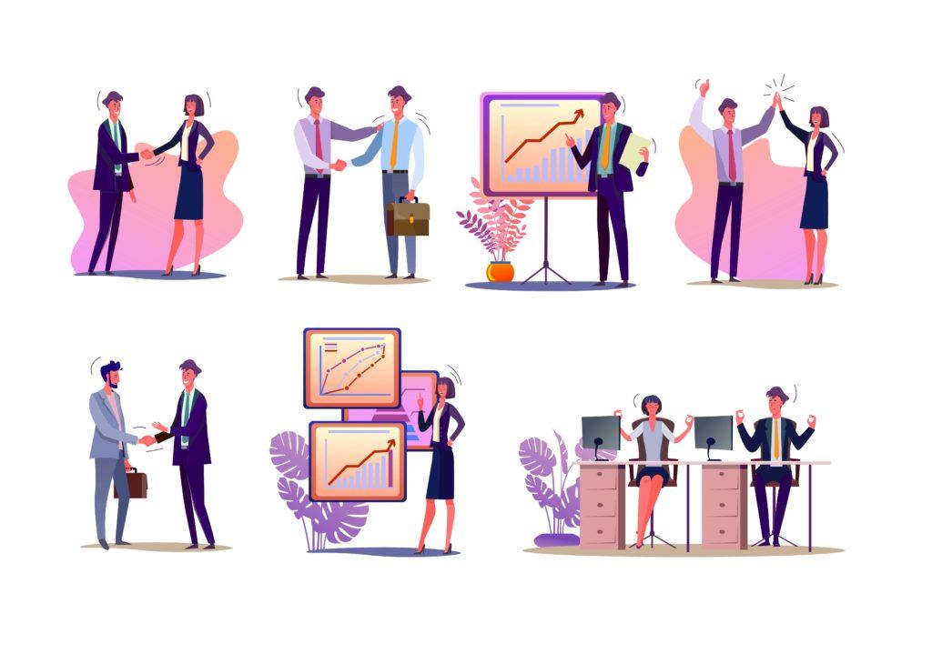 営業の仕事イメージ